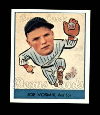 1938 Goudey Heads-Up Reprint #247  Joe Vosmik