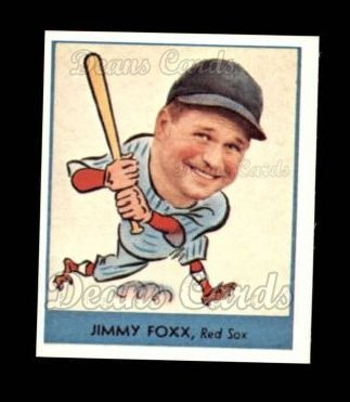 1938 Goudey Heads-Up Reprint #249  Jimmie Foxx