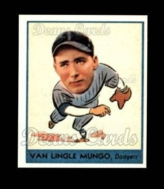 1938 Goudey Heads-Up Reprint #254  Van Lingle Mungo