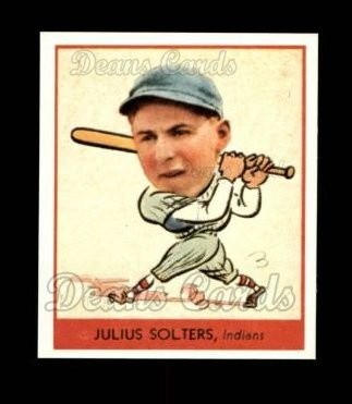 1938 Goudey Heads-Up Reprint #255  Moose Solters