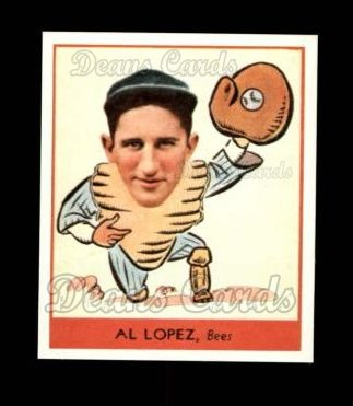 1938 Goudey Heads-Up Reprint #257  Al Lopez