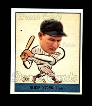 1938 Goudey Heads-Up Reprint #260  Rudy York