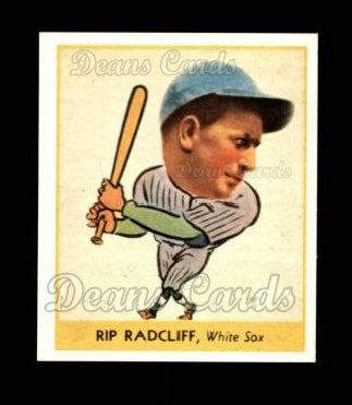 1938 Goudey Heads-Up Reprint #261  Rip Radcliff