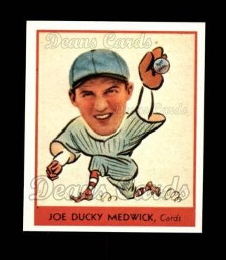 1938 Goudey Heads-Up Reprint #262  Ducky Medwick