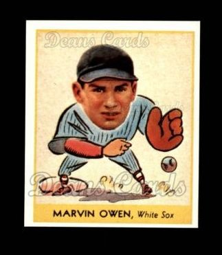 1938 Goudey Heads-Up Reprint #263  Marvin Owen