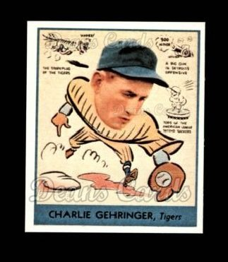 1938 Goudey Heads-Up Reprint #265  Charley Gehringer
