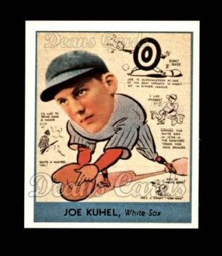 1938 Goudey Heads-Up Reprint #267  Joe Kuhel