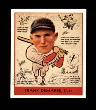 1938 Goudey Heads-Up Reprint #268  Frank Demaree
