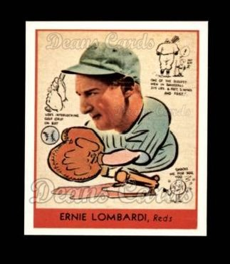 1938 Goudey Heads-Up Reprint #270  Ernie Lombardi