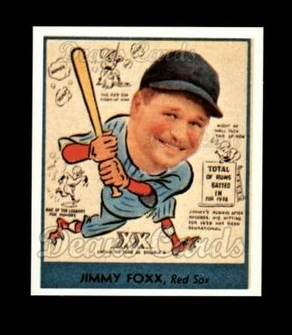 1938 Goudey Heads-Up Reprint #273  Jimmie Foxx