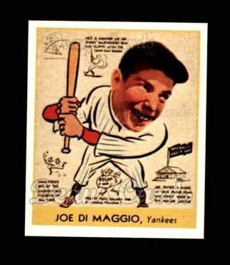 1938 Goudey Heads-Up Reprint #274  Joe DiMaggio