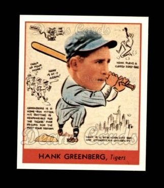 1938 Goudey Heads-Up Reprint #277  Hank Greenberg