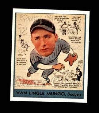 1938 Goudey Heads-Up Reprint #278  Van Lingle Mungo