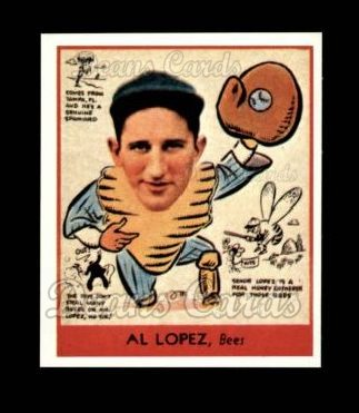 1938 Goudey Heads-Up Reprint #281  Al Lopez