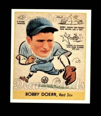 1938 Goudey Heads-Up Reprint #282  Bobby Doerr