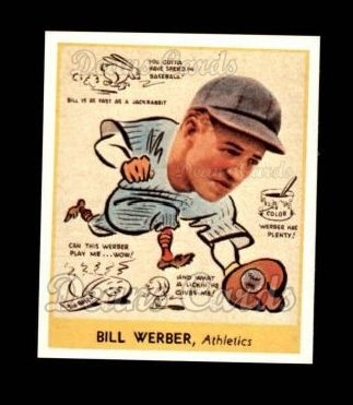 1938 Goudey Heads-Up Reprint #283  Billy Werber
