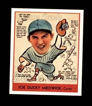 1938 Goudey Heads-Up Reprint #286  Ducky Medwick