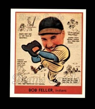 1938 Goudey Heads-Up Reprint #288  Bob Feller