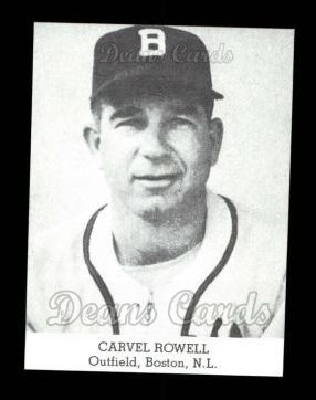 1947 Tip Top Bread Reprint  Carvel Rowell