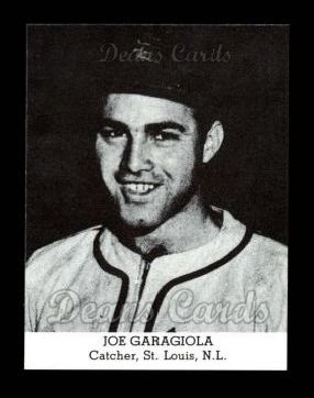 1947 Tip Top Bread Reprint  Joe Garagiola