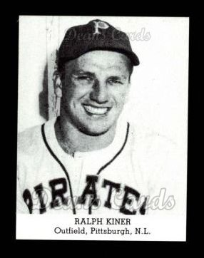 1947 Tip Top Bread Reprint  Ralph Kiner