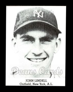 1947 Tip Top Bread Reprint  Johnny Lindell