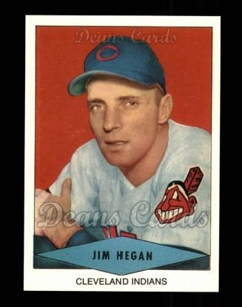 1954 Red Heart Reprint #11  Jim Hegan