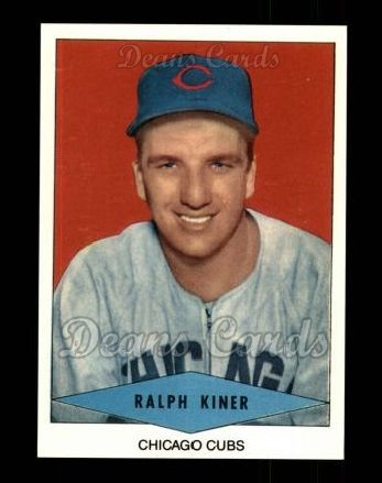 1954 Red Heart Reprint #13  Ralph Kiner