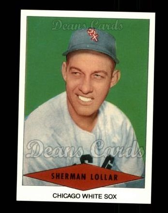 1954 Red Heart Reprint #17  Sherman Lollar