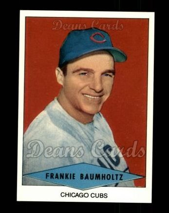 1954 Red Heart Reprint #2  Frank Baumholtz