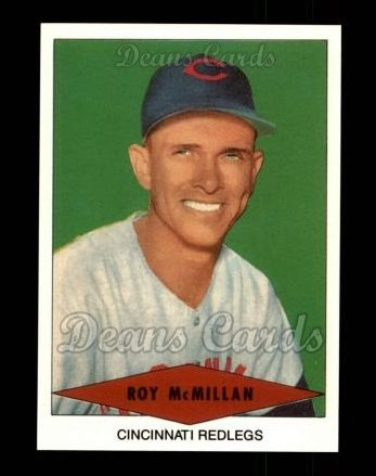 1954 Red Heart Reprint #21  Roy McMillan