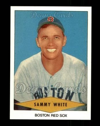 1954 Red Heart Reprint #31  Sammy White