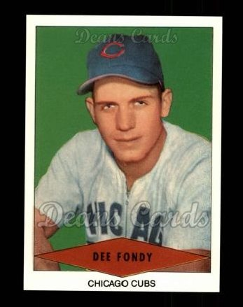 1954 Red Heart Reprint #8  Dee Fondy