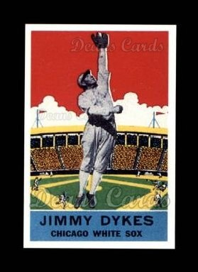 1933 Delong Gum Reprint #18  Jimmy Dykes