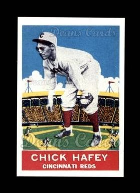 1933 Delong Gum Reprint #19  Chick Hafey