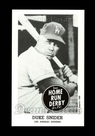 1959 Home Run Derby Reprint #17  Duke Snider