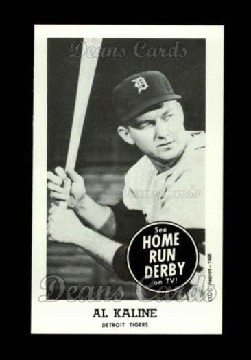 1959 Home Run Derby Reprint #9  Al Kaline