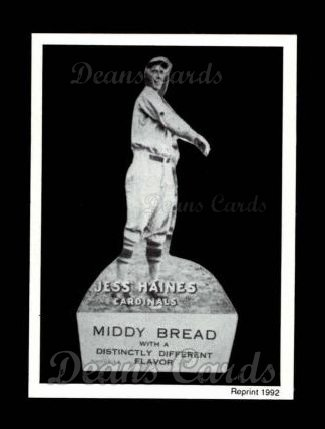 1927 Middy Bread Reprint #10  Jesse Haines