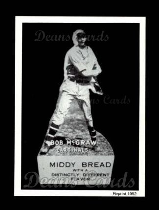 1927 Middy Bread Reprint #12  Bob McGraw