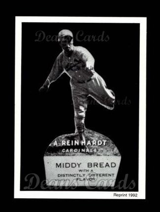 1927 Middy Bread Reprint #14  Art Reinhardt
