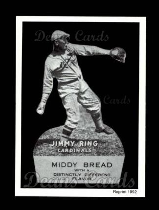 1927 Middy Bread Reprint #15  Jimmy Ring