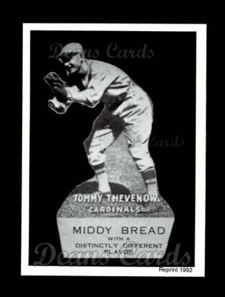 1927 Middy Bread Reprint #20  Tommy Thevenow