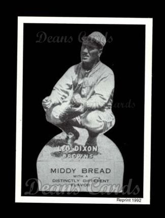 1927 Middy Bread Reprint #27  Leo Dixon