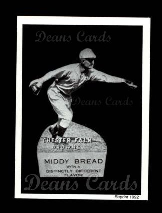 1927 Middy Bread Reprint #28  Chester Falk