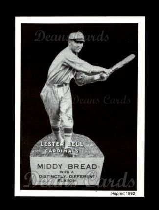 1927 Middy Bread Reprint #3  Lester Bell