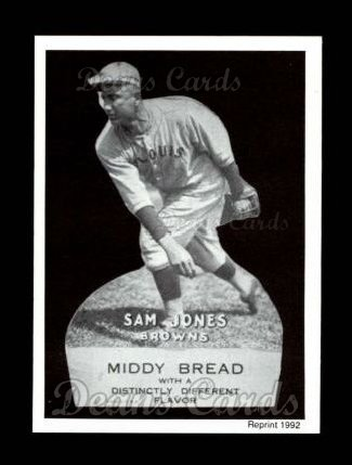 1927 Middy Bread Reprint #31  Sam Jones