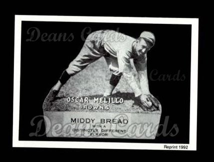 1927 Middy Bread Reprint #33  Oscar Melillo