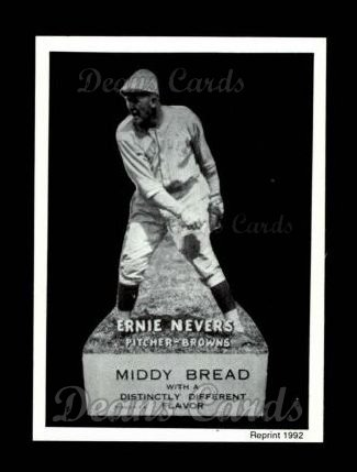 1927 Middy Bread Reprint #37  Ernie Nevers
