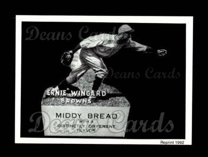 1927 Middy Bread Reprint #44  Ernie Wingard