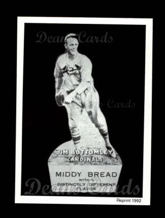 1927 Middy Bread Reprint #5  Jim Bottomley